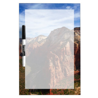 United States, Utah, Zion National Park Dry Erase Board