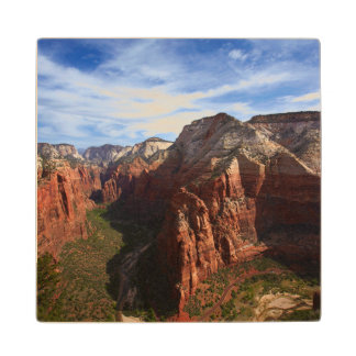 United States, Utah, Zion National Park Wood Coaster