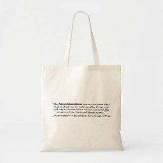 United States v. Cruikshank, 92 U.S. 542 (1875) Budget Tote Bag