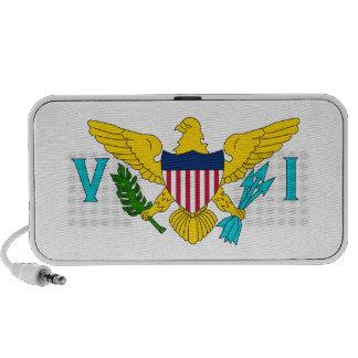 United States Virgin Islands Flag Travelling Speakers