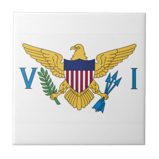 United States Virgin Islands Flag Tile