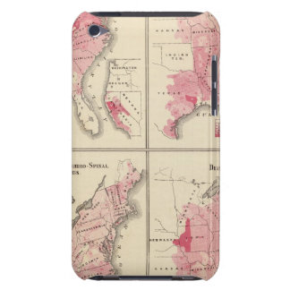 United States vitality maps Barely There iPod Cover