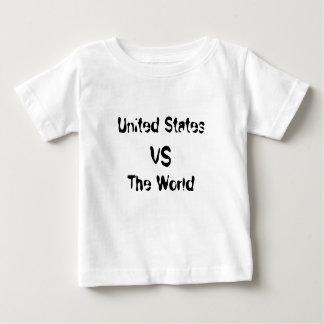 United States vs The World Baby T-Shirt