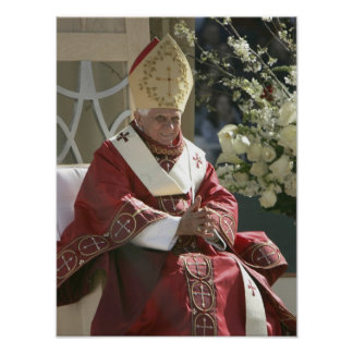 United States, Washington, D.C. Pope Benedict Poster