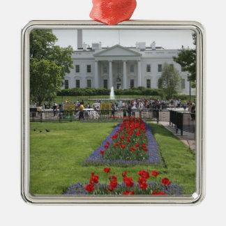 United States, Washington, D.C. The North side Christmas Ornament