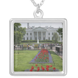 United States, Washington, D.C. The North side Silver Plated Necklace