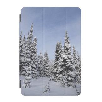 United States, Washington, snow covered trees iPad Mini Cover