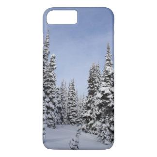 United States, Washington, snow covered trees iPhone 8 Plus/7 Plus Case