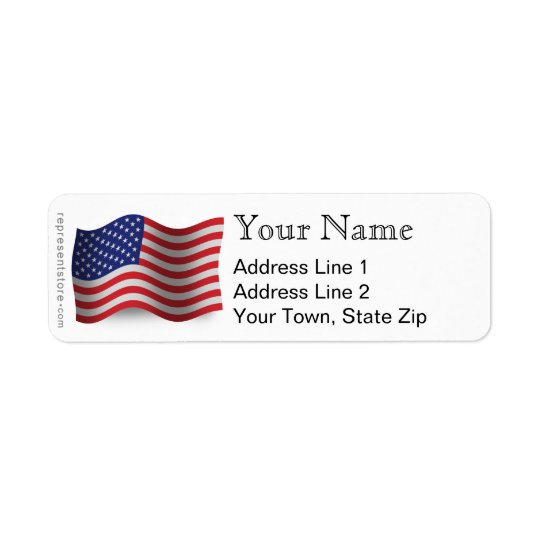 United States Waving Flag