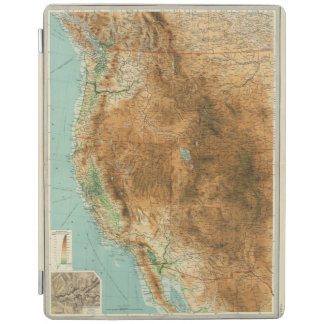 United States western section iPad Cover