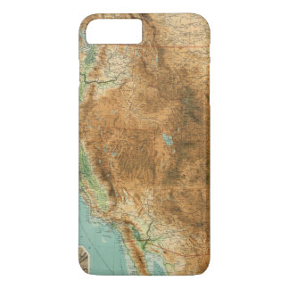 United States western section iPhone 8 Plus/7 Plus Case