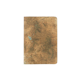 United States western section Passport Holder