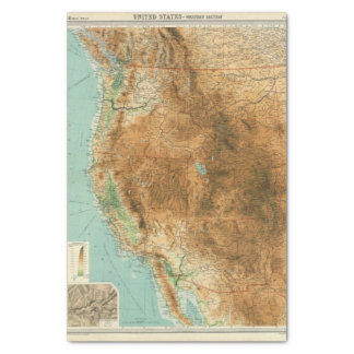 United States western section Tissue Paper