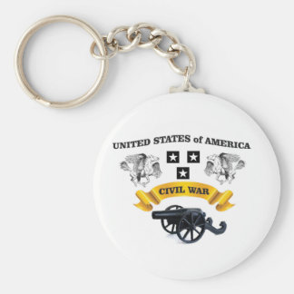united states winged horse cw basic round button key ring