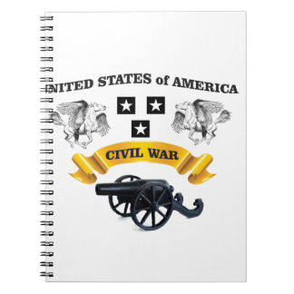 united states winged horse cw spiral note book