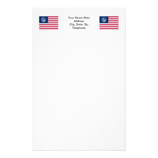 United States Yacht Ensign Personalised Stationery