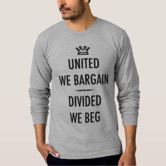 United We Bargain Tshirts