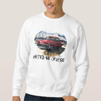 UNITED WE CRUISE™ - 57 Chevy Sweat Shirt