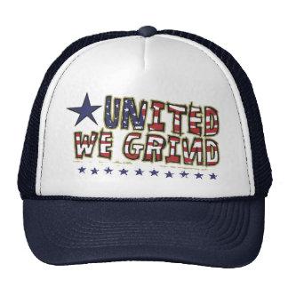 United We Grind Trucker Hat