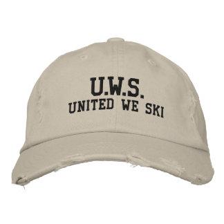 UNITED WE SKI™ Embroidered Hat