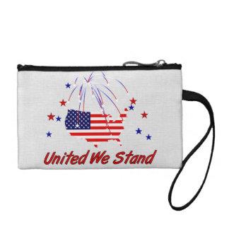 United We Stand Change Purse