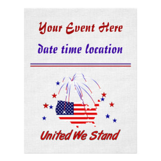 United We Stand 21.5 Cm X 28 Cm Flyer