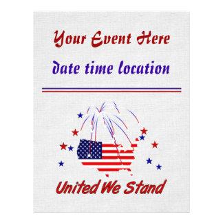United We Stand Custom Flyer