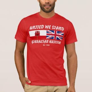 United We Stand Gibraltar British Tshirt