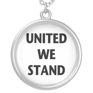 United We Stand Personalized Necklace