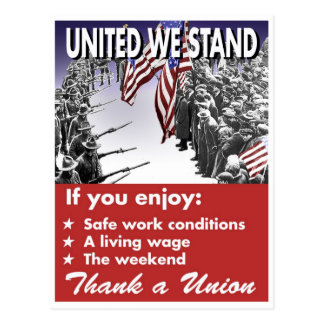 United We Stand -- Pro-Union Postcard