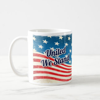 United We Stand Vintage Coffee Mug