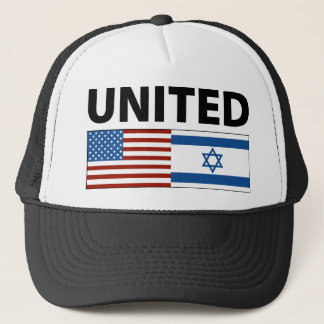 United with Israel Trucker Hat