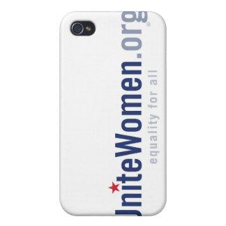 UniteWomen.org Logo iPhone Case iPhone 4/4S Cases