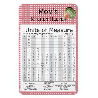 Units of Measure Watermelon Design Magnet