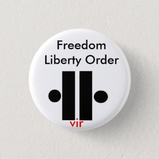 Unity5, Freedom Liberty Order, vir 3 Cm Round Badge