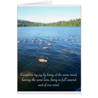 Unity among Believers Greeting Card