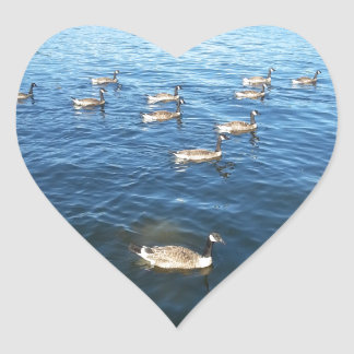 Unity among Believers Heart Sticker