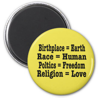Unity and Humanity Magnet
