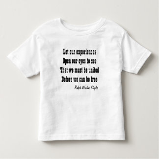 Unity brings freedom toddler T-Shirt