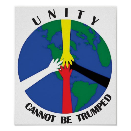Unity Cannot Be Trumped - Poster