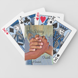 Unity,Faith,Hope_ Bicycle Playing Cards