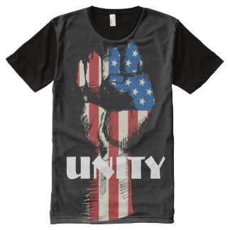 Unity Fist All-Over Print T-Shirt