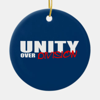 UNITY OVER DIVISION ORNAMENTS