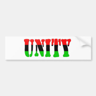 Unity Pan-African Flag Bumper Stickers
