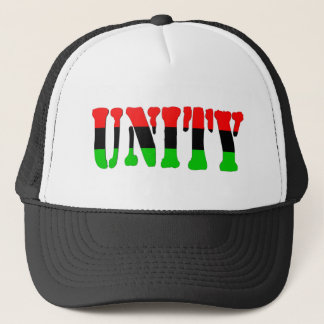Unity Pan-African Flag Trucker Hat