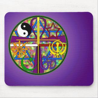 Unity Spiritual Symbols Mouse Mat