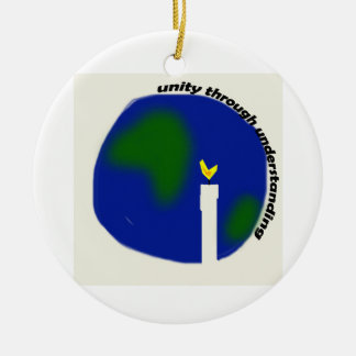 Unity Through Understanding Christmas Ornament