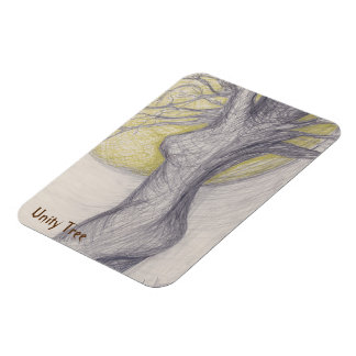 Unity Tree Rectangular Photo Magnet