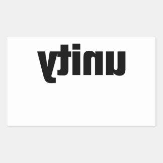 Unityyy!!!!!!!! Rectangular Sticker