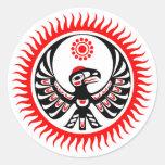 Universal Beings NAHM Sticker Round Sticker